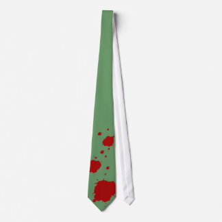 Blood stains theme for fun tie