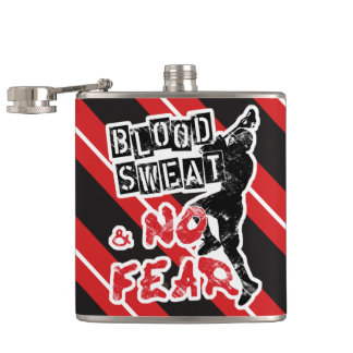 Blood, Sweat and No Fear, Lacrosse Hip Flask