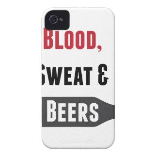 Blood, Sweat & Beers iPhone 4 Case