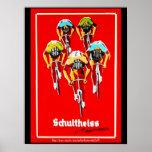 """Blood Sweat & Gears & the Tour de France"" Poster"