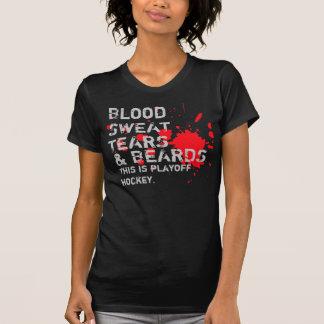 Blood, Sweat, Tears & Beards Tshirts