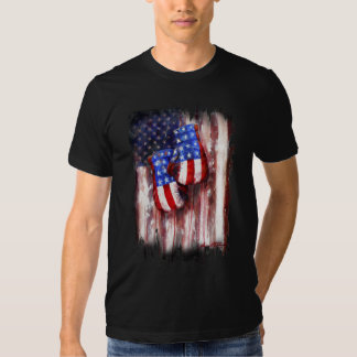 Blood, White, and Blue (American Boxing Tradition) T Shirt