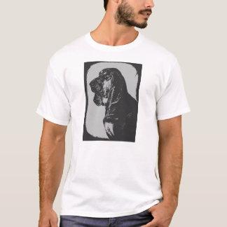 Bloodhound black and white T-shirt