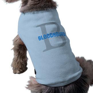 Bloodhound Breed Monogram Design Dog Clothing