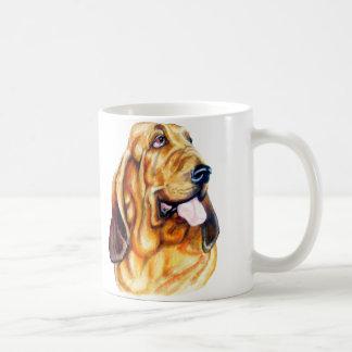 Bloodhound Bust Coffee Mug