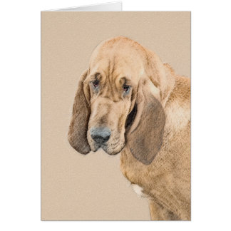 Bloodhound Card