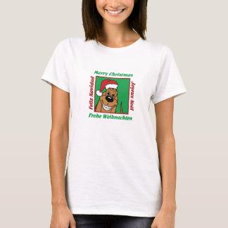 Bloodhound Christmas T-Shirt