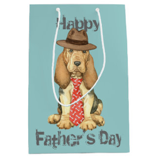 Bloodhound Dad Medium Gift Bag