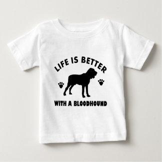 bloodhound dog design baby T-Shirt