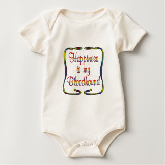 Bloodhound Happiness Baby Bodysuit
