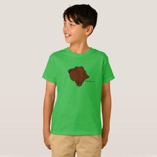 Bloodhound head silhouette T-Shirt