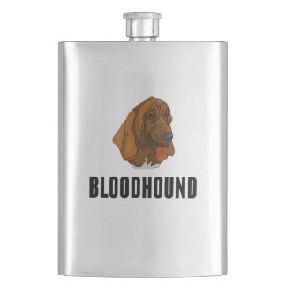 Bloodhound Hip Flask