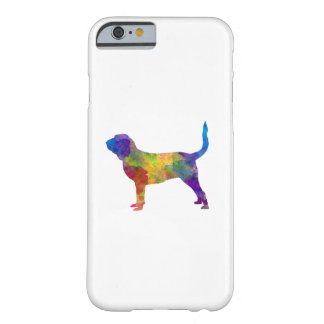 Bloodhound in watercolor barely there iPhone 6 case