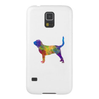 Bloodhound in watercolor galaxy s5 cover