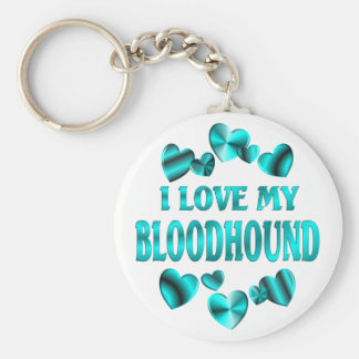 BLOODHOUND Love Keychain