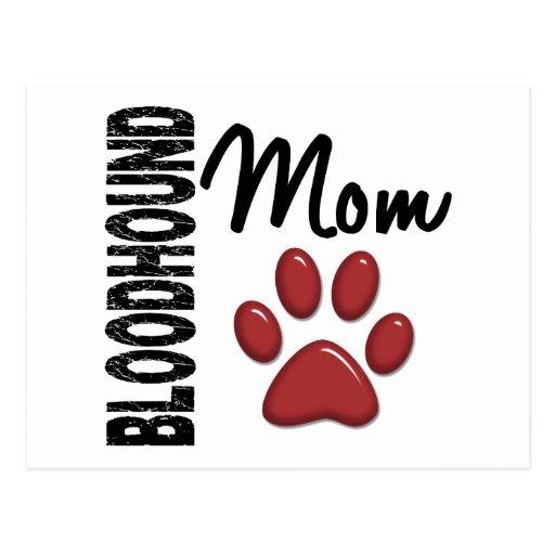 Bloodhound Mom 2 Postcard