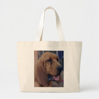 Bloodhound.png Large Tote Bag