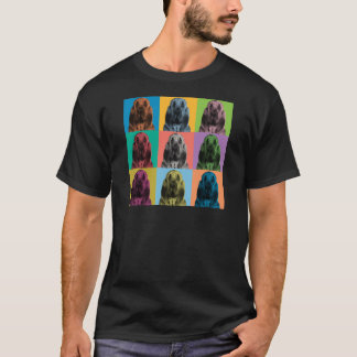 Bloodhound Pop-Art T-Shirt