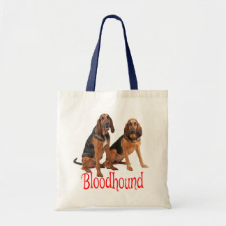 Bloodhound Puppy Dog Red Love Tote Bag
