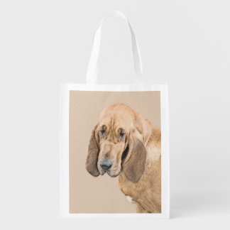 Bloodhound Reusable Grocery Bag