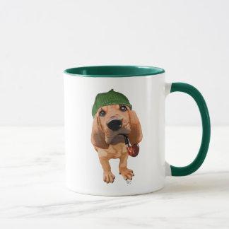 Bloodhound Sherlock Holmes 2 Mug