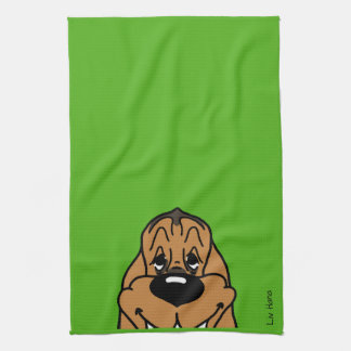 Bloodhound Smile Kitchen Towel