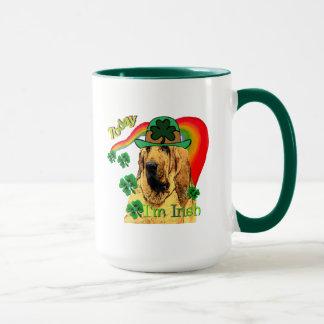 Bloodhound st Patricks Mug