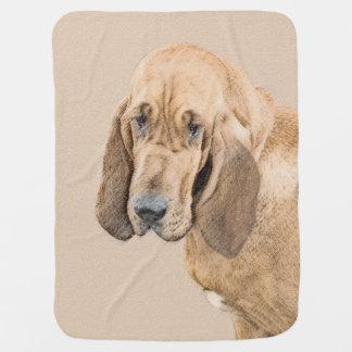 Bloodhound Stroller Blanket