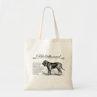 Bloodhound Vintage Storybook Style