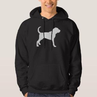 Bloodhound (white) hoodie