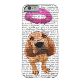 Bloodhound With Angelic Pink Halo Barely There iPhone 6 Case