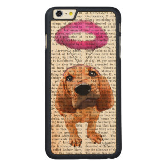 Bloodhound With Angelic Pink Halo Carved® Maple iPhone 6 Plus Case