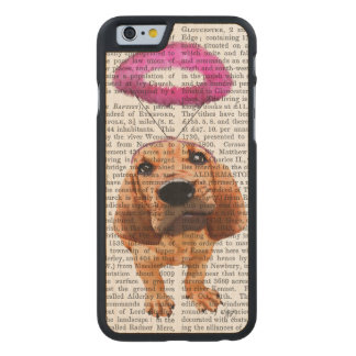 Bloodhound With Angelic Pink Halo Carved® Maple iPhone 6 Slim Case