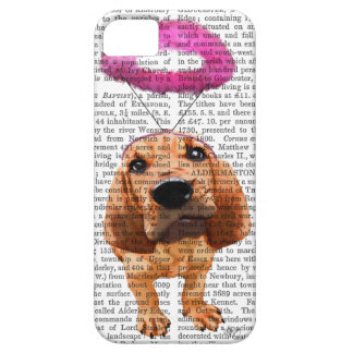 Bloodhound With Angelic Pink Halo iPhone 5 Cover