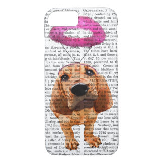 Bloodhound With Angelic Pink Halo iPhone 7 Case