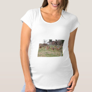bloodhounds working maternity T-Shirt