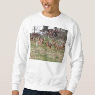 bloodhounds working sweatshirt