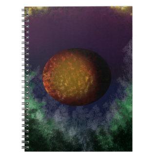 bloodmoon spiral notebook