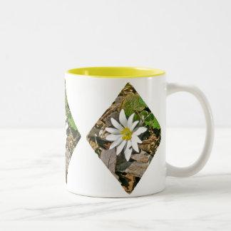Bloodroot Wildflower Mug Matches an Invitation