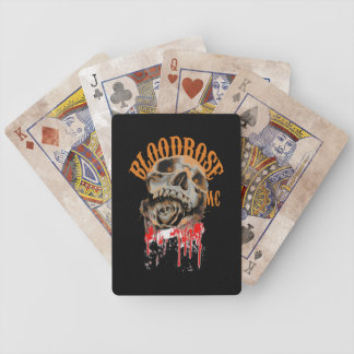 Bloodrose MC Support Playing Cards