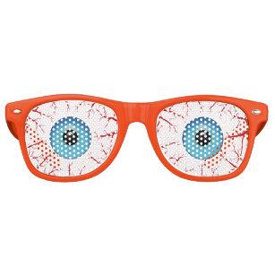 c92fb1947e2b Bloodshot Blue Eyeballs Halloween Retro Sunglasses