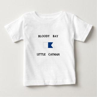 Bloody Bay Little Cayman Alpha Dive Flag Baby T-Shirt