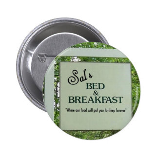 Bloody Bed & Breakfast Pin