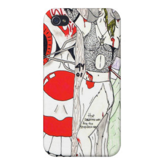 Bloody Bride Ipod Touch Covers For iPhone 4
