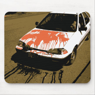 Bloody Car Mouse Pad
