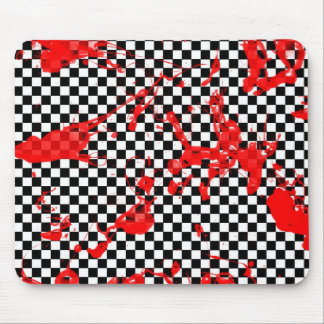 Bloody Checker Board Mouse Pad