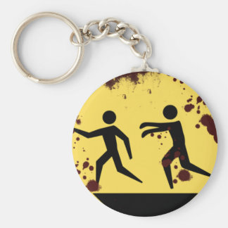 Bloody Fast Moving Zombies Keychain