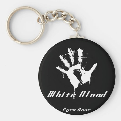 bloody hand key chains