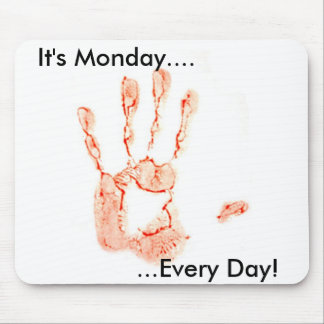 Bloody Hand Mouse Pad