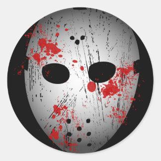 Bloody Hockey Mask Stickers